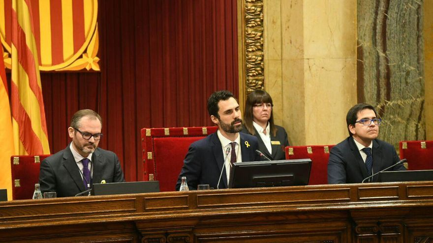 Roger Torrent es elegido presidente del Parlament