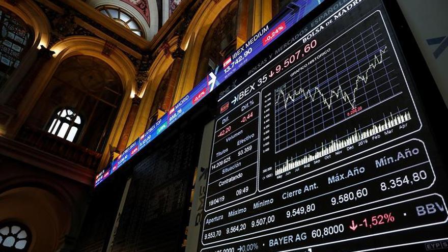 La Bolsa española no operará mañana, Lunes de Pascua