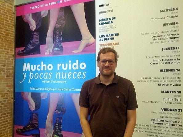 Pablo Berástegui, nuevo coordinador general del centro Conde Duque | Foto: Somos Malasaña