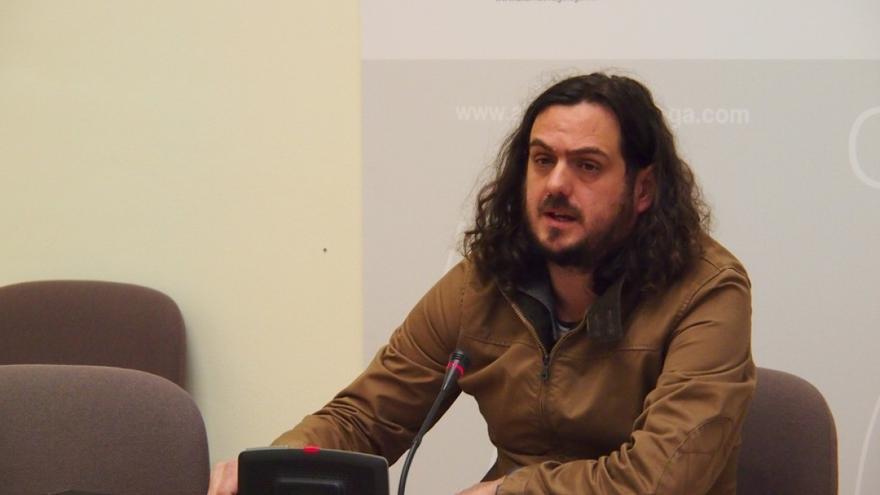 Antón Sánchez, viceportavoz de AGE en el Parlamento de Galicia
