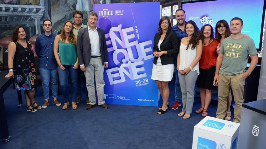 Presentación de la cita cultural, este lunes en la sede del Cabildo de Tenerife