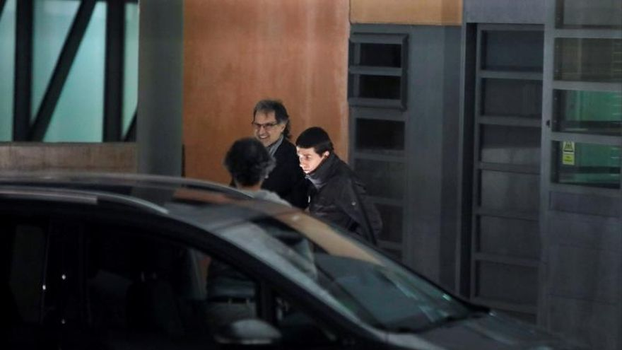 Jordi Cuixart sale de prisión en su primer permiso tras 822 días encarcelado