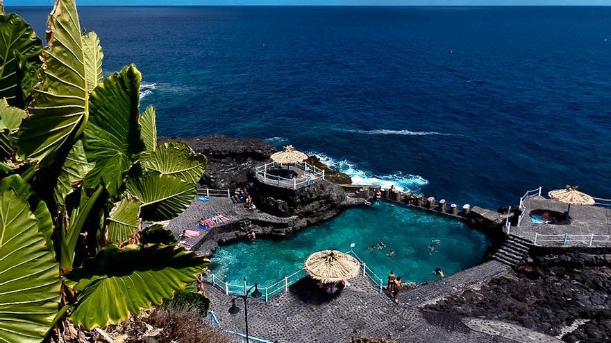 El Charco Azul, uno de los lugares más espectaculares de la costa de La Palma