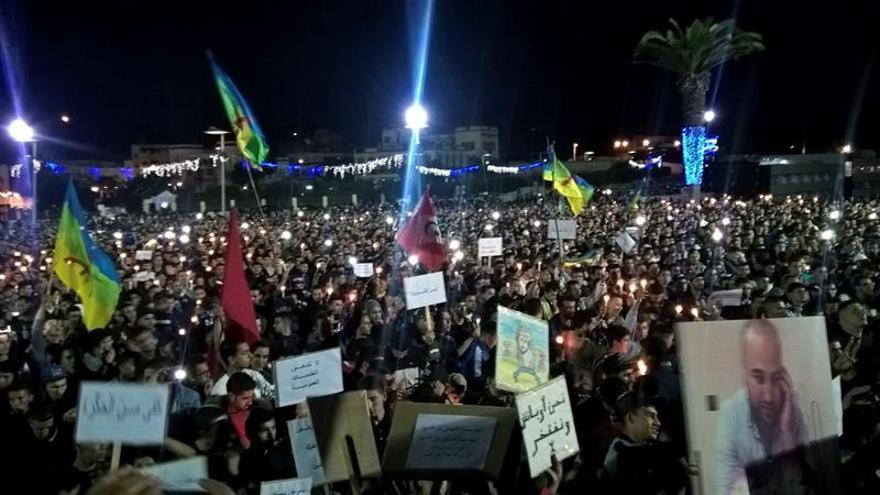 En libertad los responsables de la muerte del joven marroquí que originó las protestas en el Rif marroquí