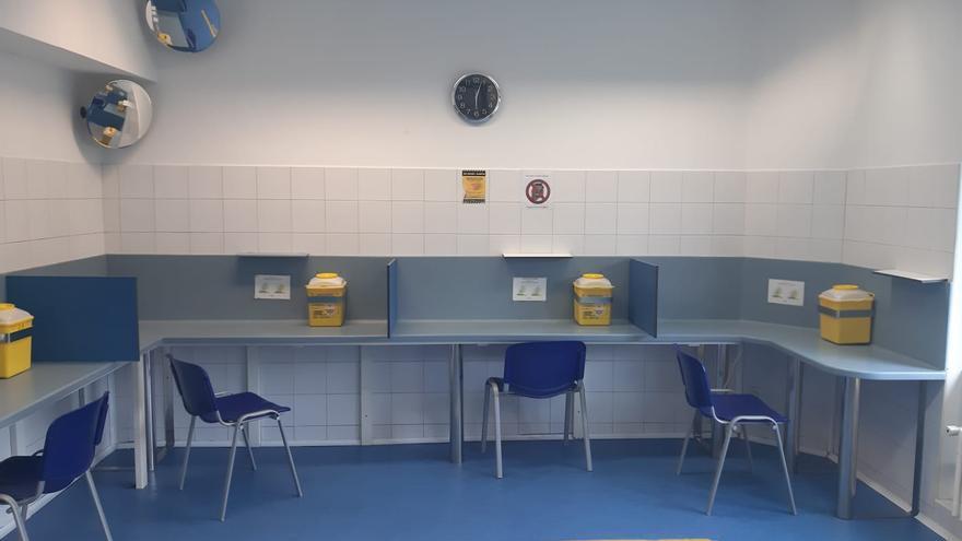 Sala de consumo de drogas inyectables