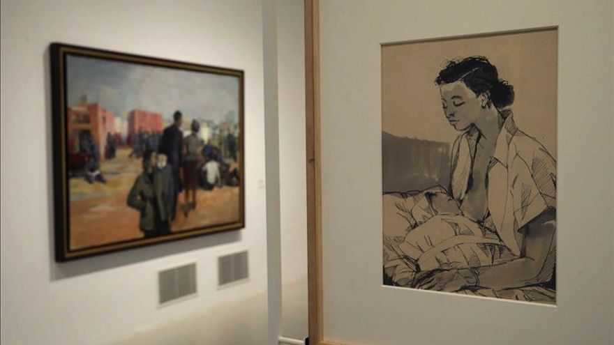 El Reina Sofía descubre al artista Andrzej Wróblewski, un mito en Polonia