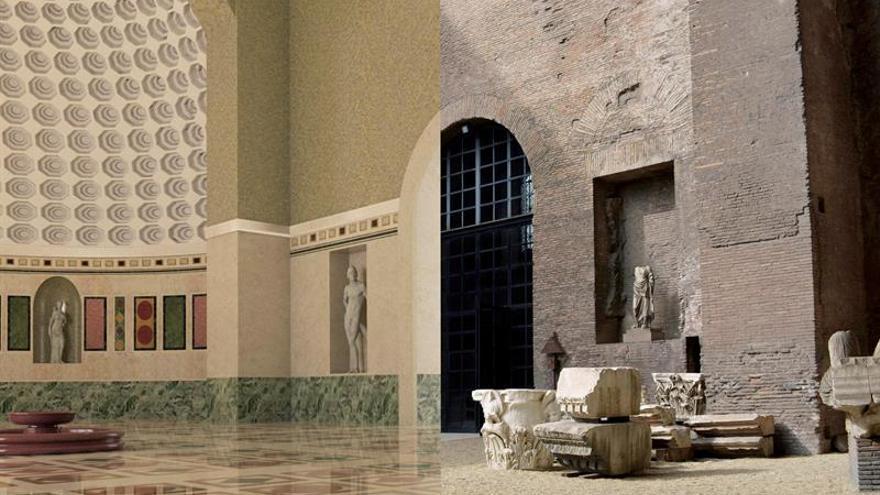 Las Termas de Diocleciano recuperan el brillo del siglo IV con tecnología 3D