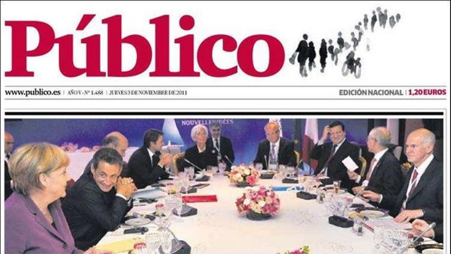 De las portadas del día (03/11/2011) #9