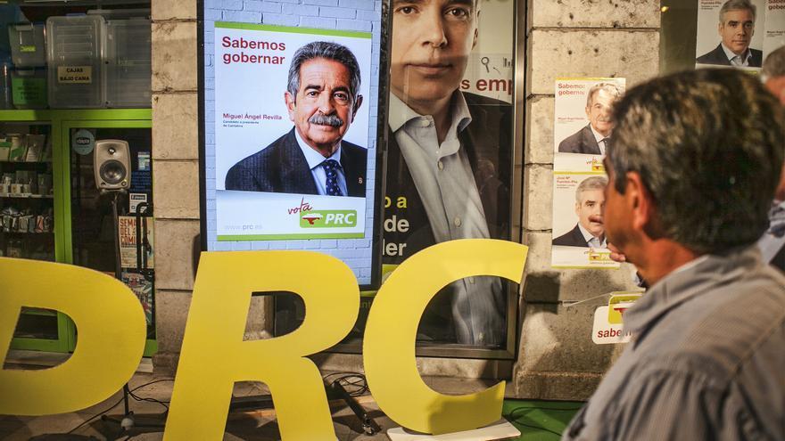 Miguel Ángel Revilla afronta su octava campaña consecutiva como candidato del PRC.