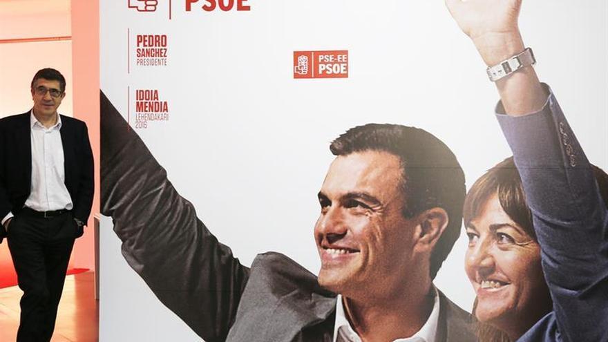 Patxi López: La oferta del PSOE para Cataluña es igual para Parlón y Borrell