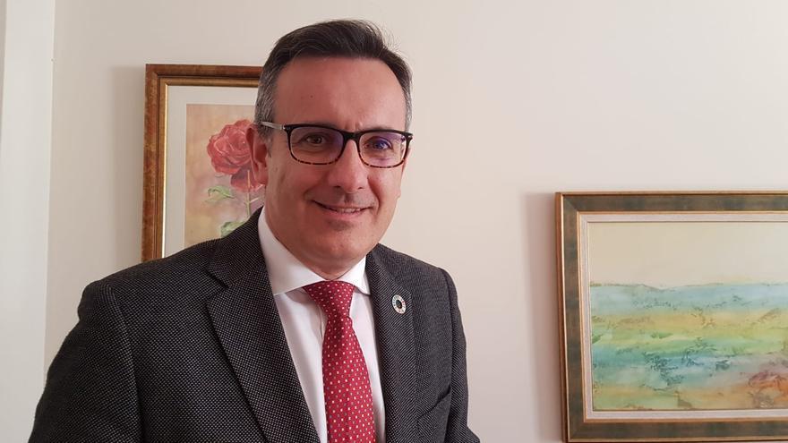 El secretario general del PSOE en la Región de Murcia, Diego Conesa / E. R.