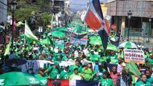 Miles de personas marchan en Rep.Dominicana contra la corrupción de Odebrecht