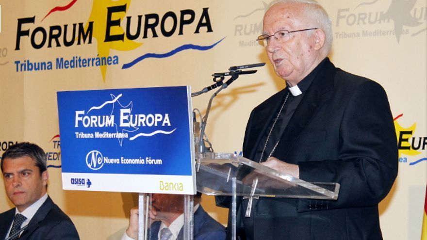 El cardenal Antonio Cañizares interviene en el Forum Europa-Tribuna Mediterránea