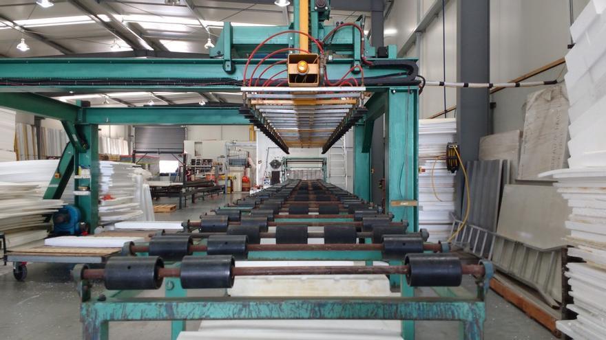Interior de una fábrica
