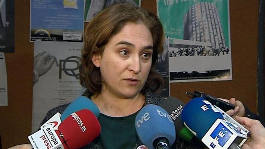 """Ada Colau dice que """"los escraches han sido un éxito completo"""""""