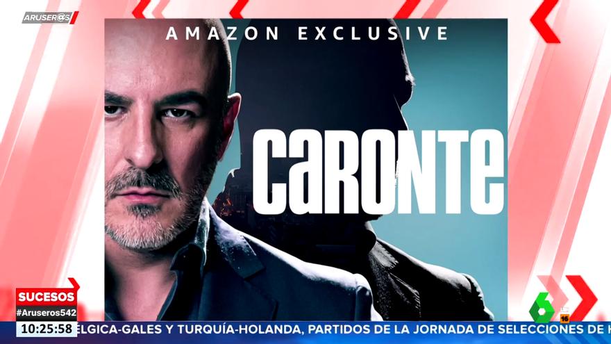 El cartel oficial de 'Caronte' en 'Aruser@s'