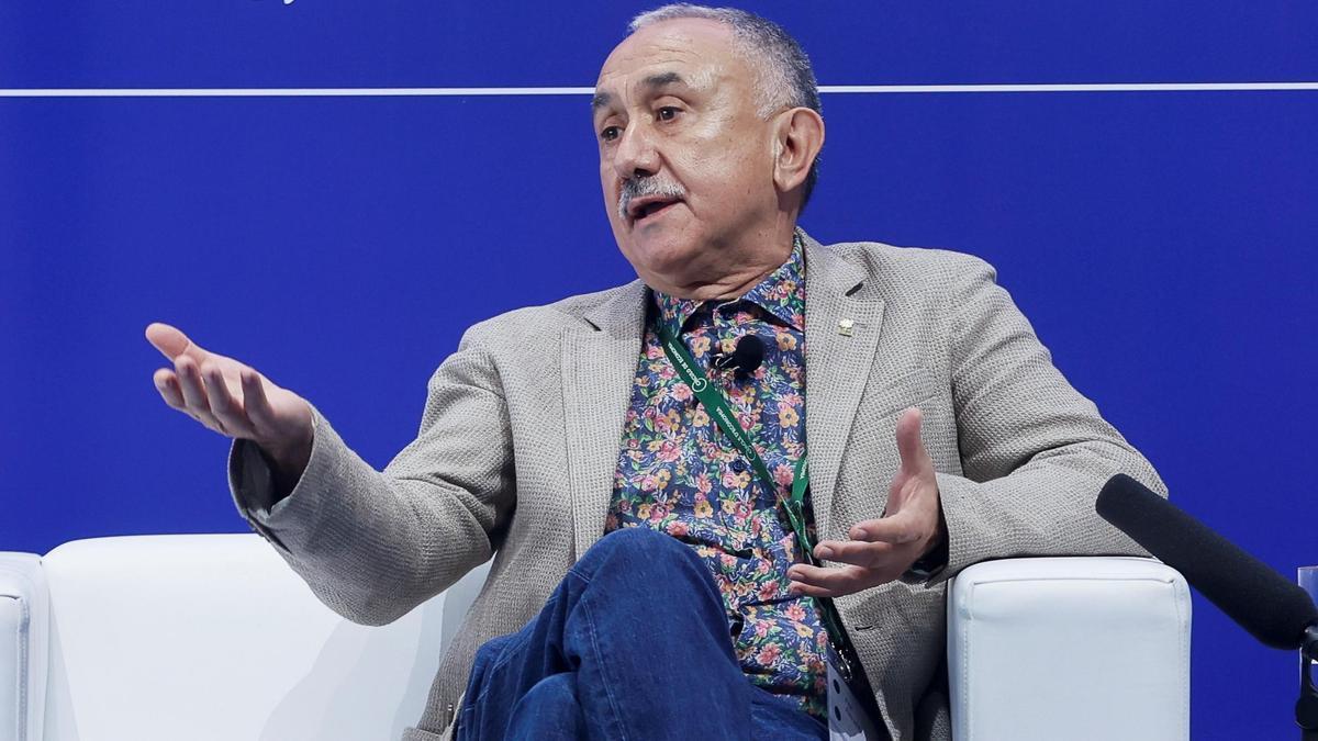 El secretario general de la UGT, Pepe Álvarez. EFE/Quique García/Archivo