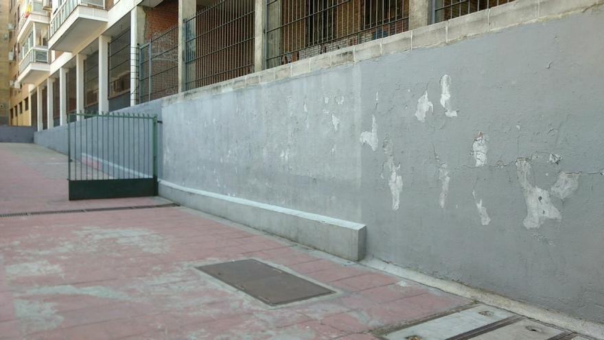 Muro del Parque José Luis Sampedro sobre el que intervendrá Ottstuff | SOMOS CHAMBERÍ