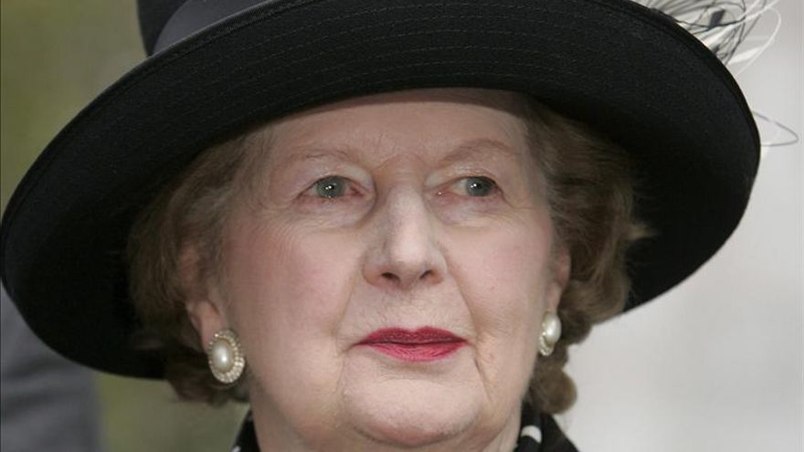 Margarte Thatcher / EFE