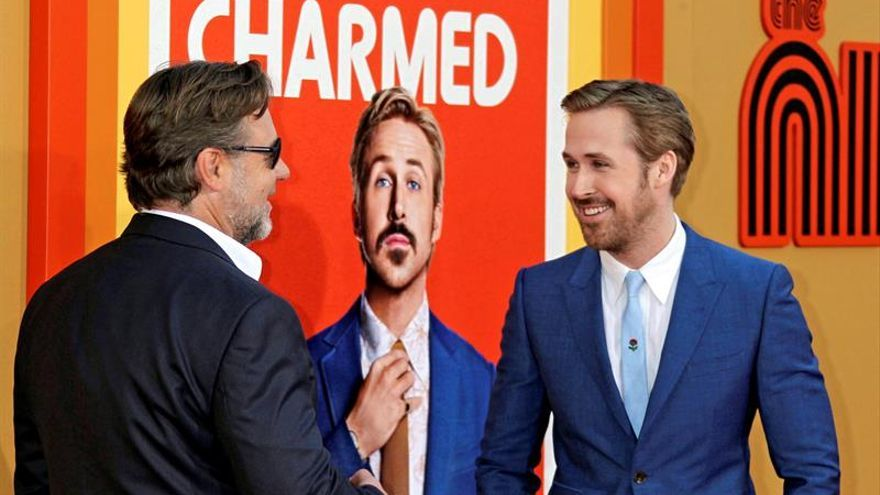 "Ryan Gosling y Russell Crowe, detectives de dudosa moral en ""The Nice Guys"""