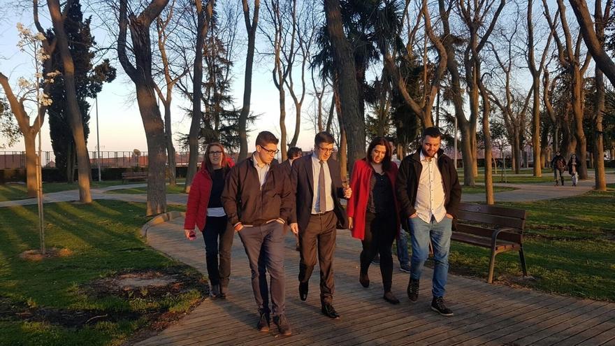 """Patxi López ve """"coincidencias"""" entre su proyecto y lo que pide la militancia, con el  primer reto de unir al partido"""