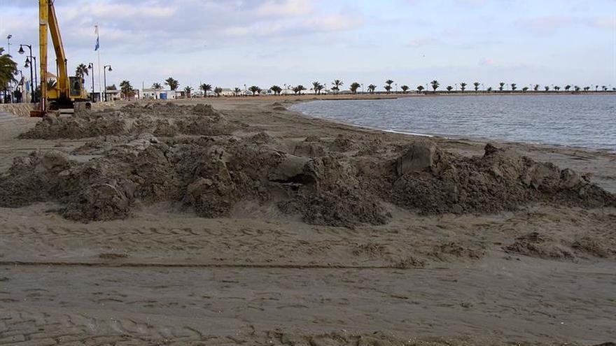 """Los últimos temporales agravan la """"deplorable"""" situación del Mar Menor"""