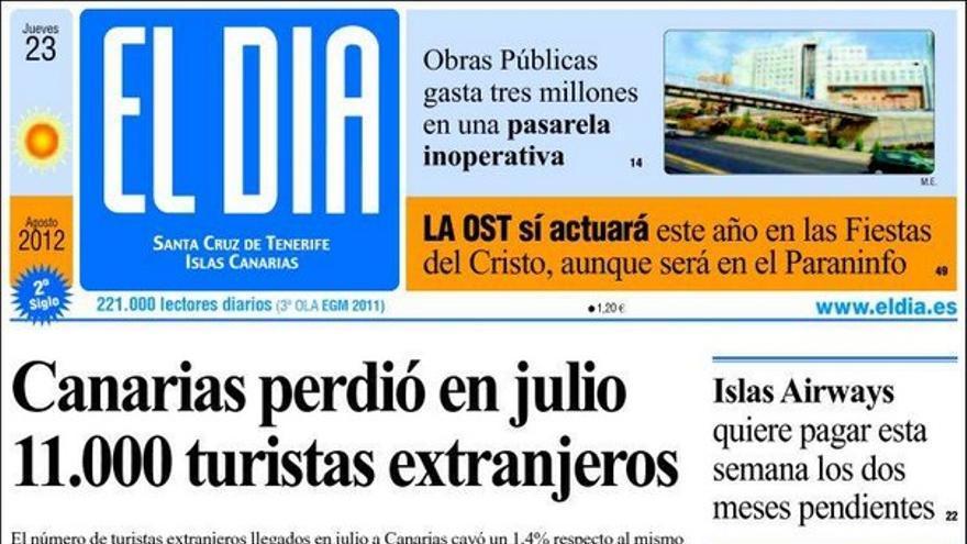 Las portadas del día (23/08/2012) #10