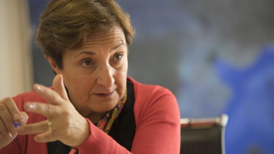La consejera de Sanidad de Cantabria, María Luisa Real. | ROMÁN GARCÍA