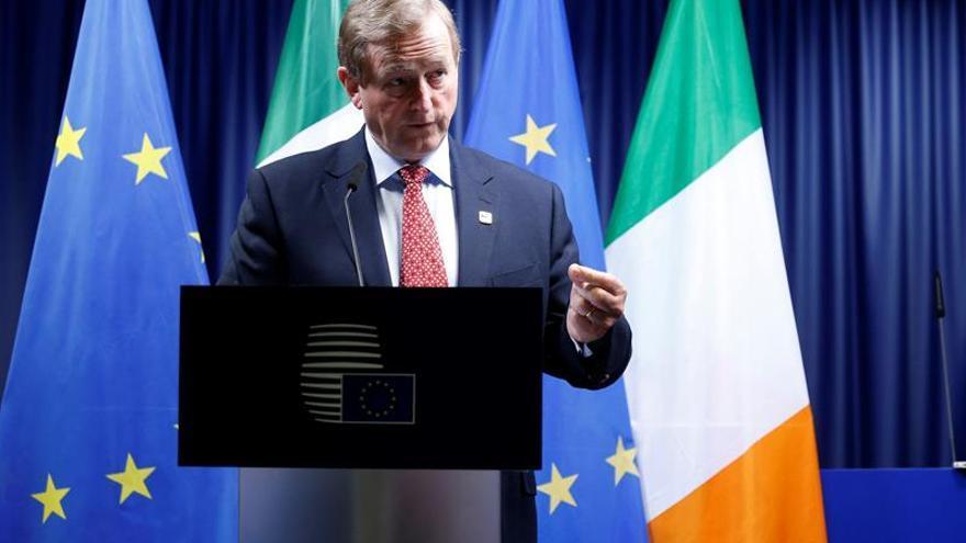 Enda Kenny asegura que la UE aceptará una Irlanda reunificada como Estado miembro