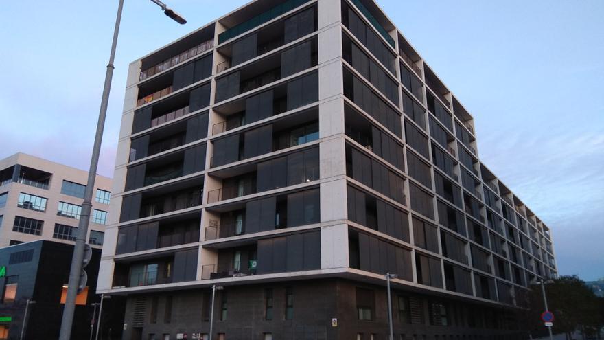 El bloque de la Avenida Barcelona, 113, en Sant Joan Despí
