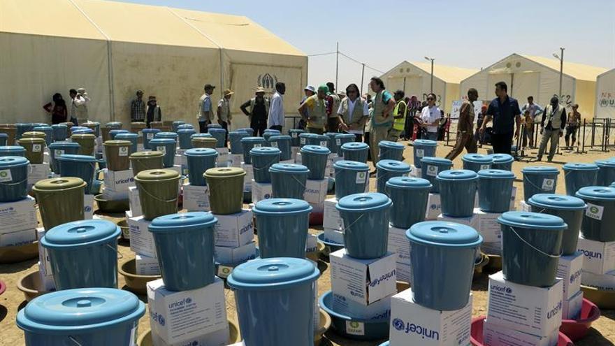 Los productos higiénicos que se distribuyen a los desplazados de Irak