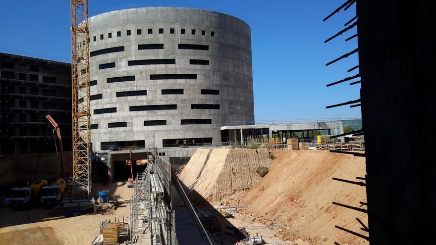 Algunos edificios del nuevo Hospital de Toledo aún no tienen un futuro uso definido