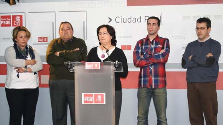 Grupo municipal del PSOE de Viso de Marqués en 2013