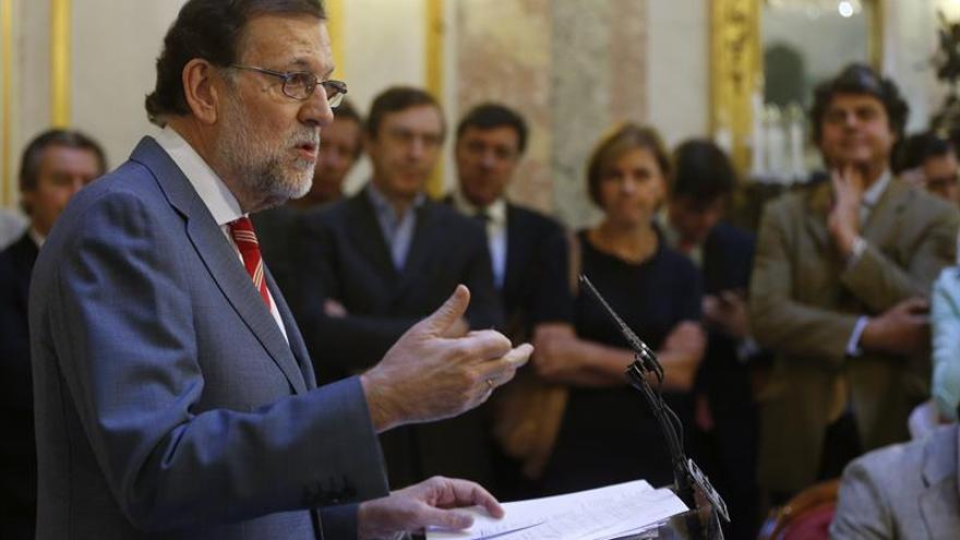 Rajoy sugiere que no iría a su investidura sin la certeza de que prospere