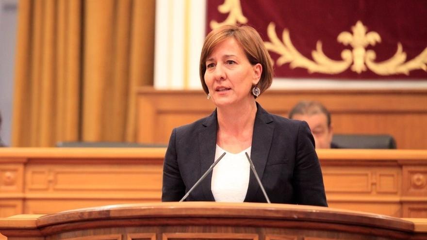 Blanca Fernández, portavoz del Grupo Socialistas en las Cortes