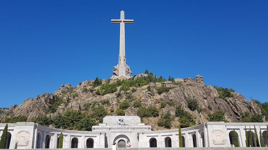 El Valle de los Caídos este 25 de julio.