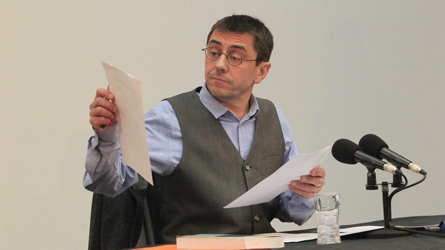 Monedero se defiende de las acusaciones de Felipe González recordando su apoyo a Barrionuevo por los GAL