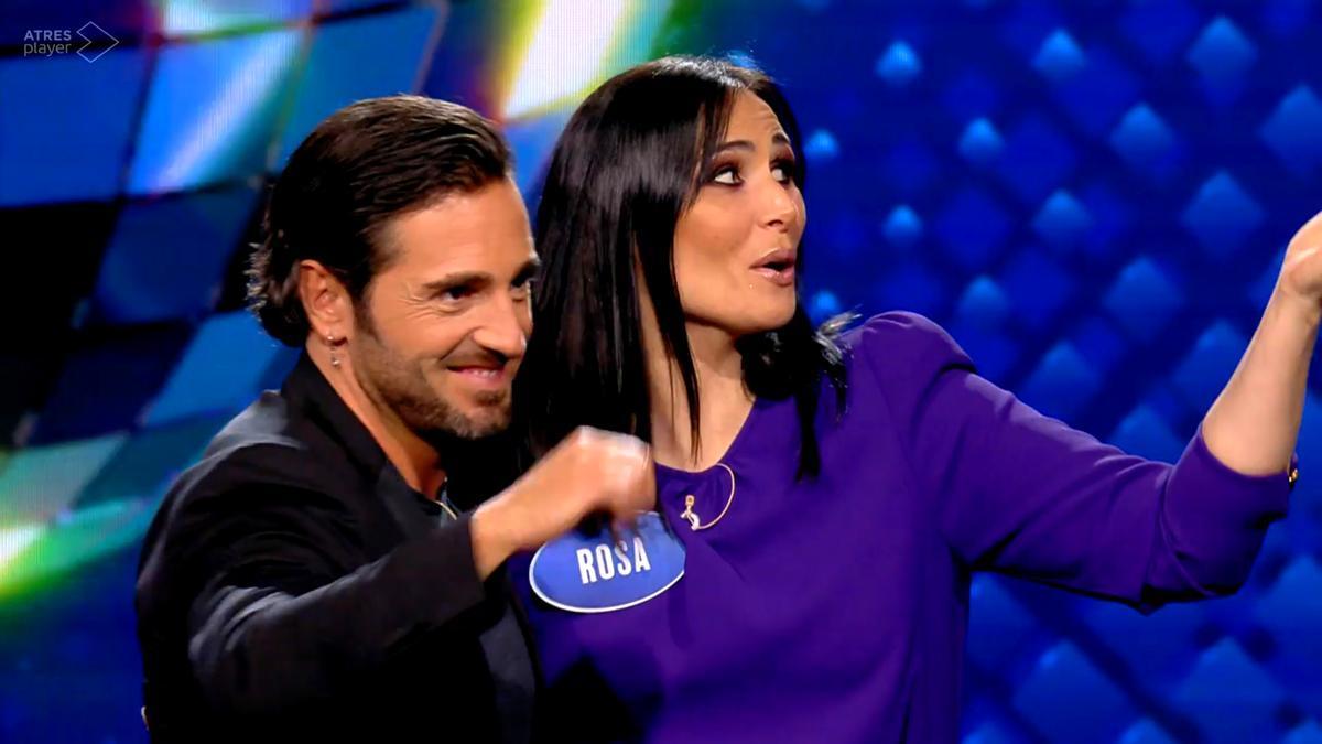 David Bustamante y Rosa López en 'Family Feud'
