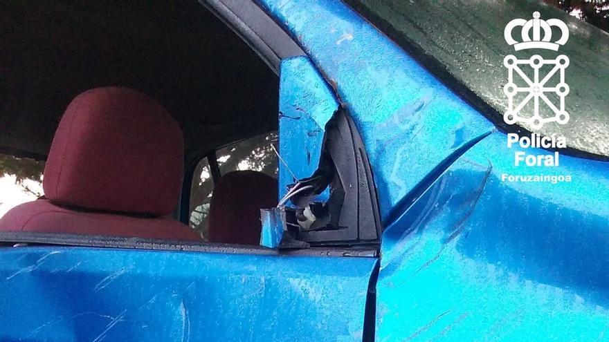 La Policía Foral alerta de una estafa relacionada con un supuesto accidente