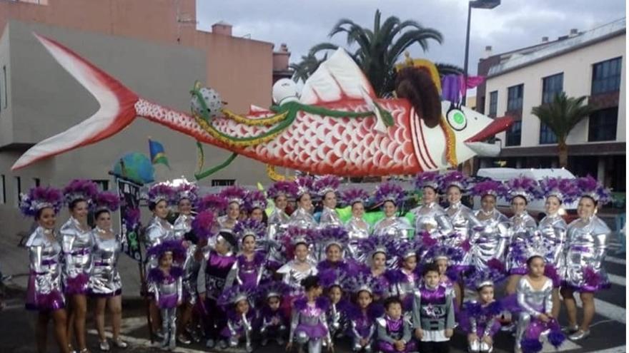 Imagen de archivo del carnaval de Barlovento.