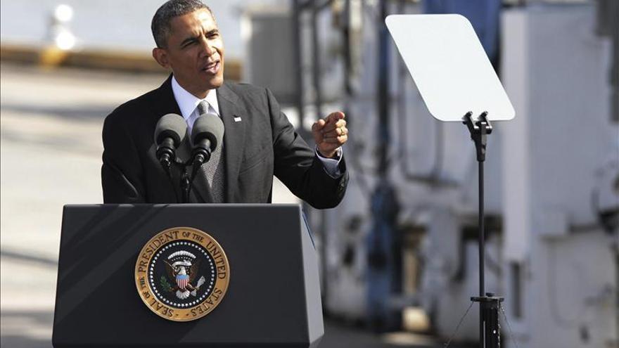 Obama pide más infraestructuras para mantener el músculo exportador de EE.UU.