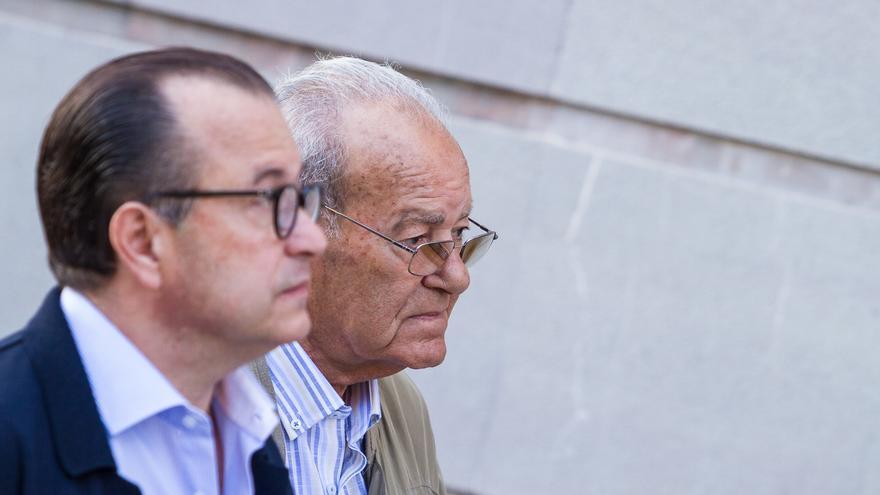 El empresario Ignacio González Martín junto a su hijo Pedro González Santiago (Aarón S. Ramos)