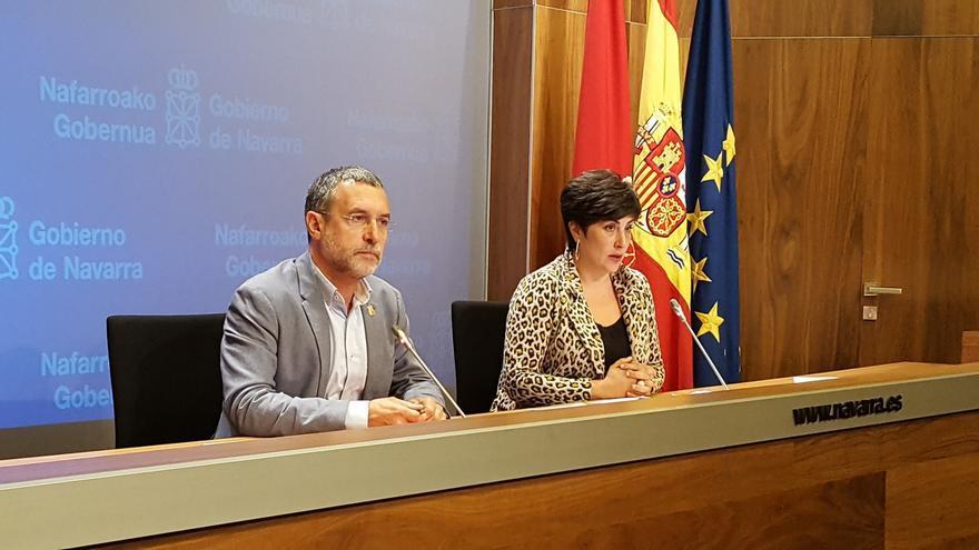 """El Gobierno de Navarra muestra su """"preocupación enorme"""" por """"la respuesta policial del Ejecutivo de Rajoy"""" en Cataluña"""
