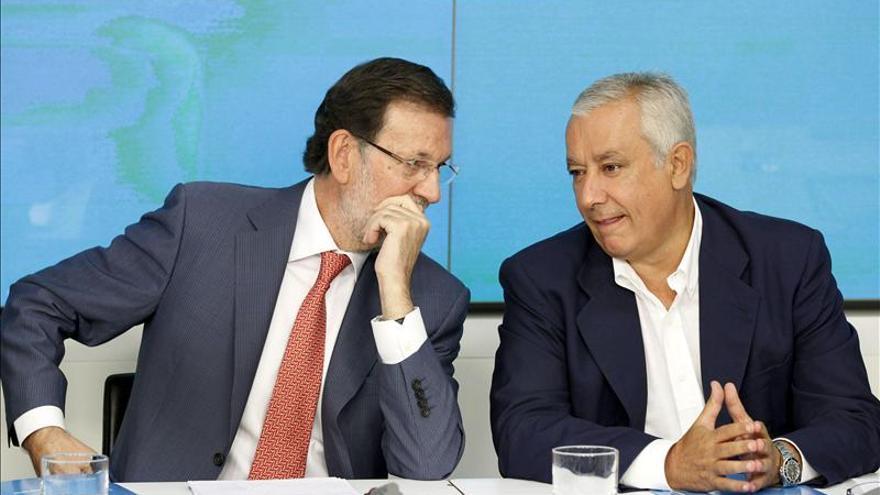 """Rajoy respalda a las víctimas de ETA y dice que """"esta batalla la ganará la justicia"""""""