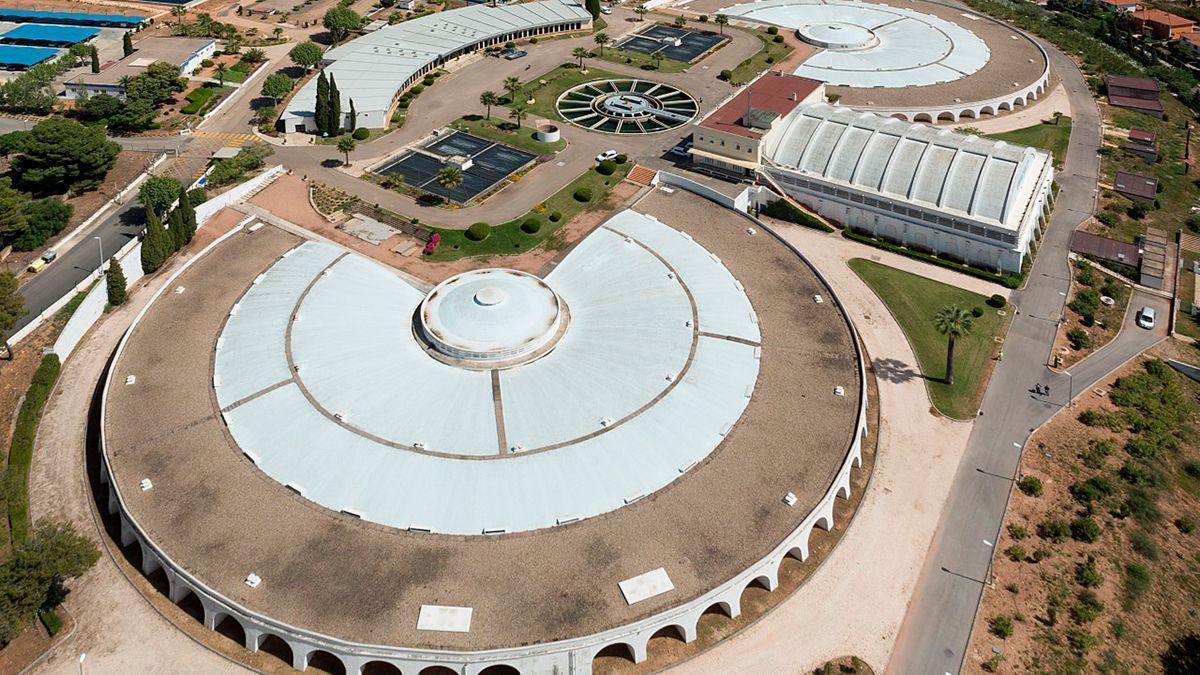 Los depósitos de Emacsa en Villa Azul.