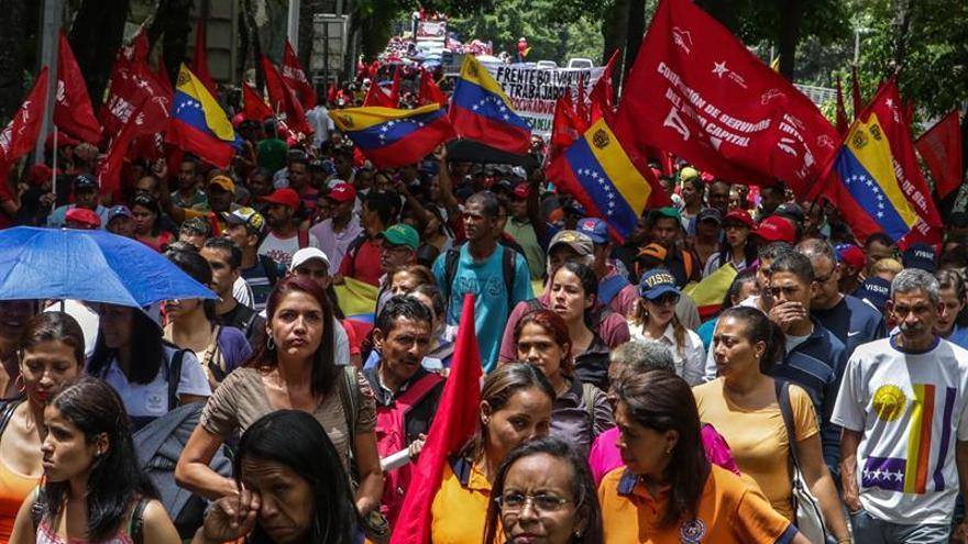 El chavismo comienza su jornada de cierre de campaña con actos en todo el país