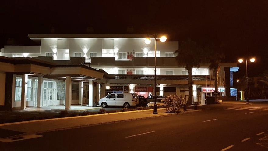 Instalaciones de H10 Hotels Los Cancajos con la nueva iluminación.