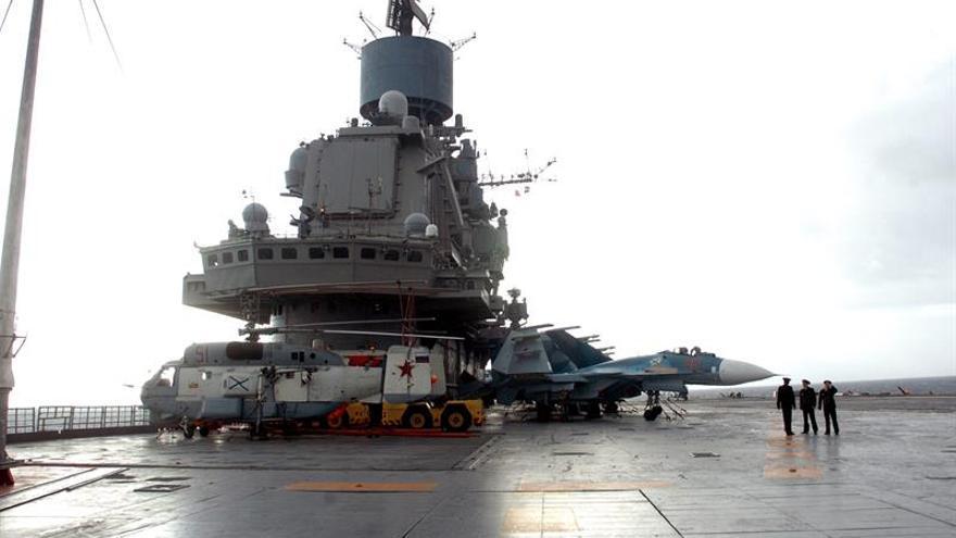"""Rusia destinará el portaaviones """"Almirante Kuznetsov"""" en el Mediterráneo Oriental"""