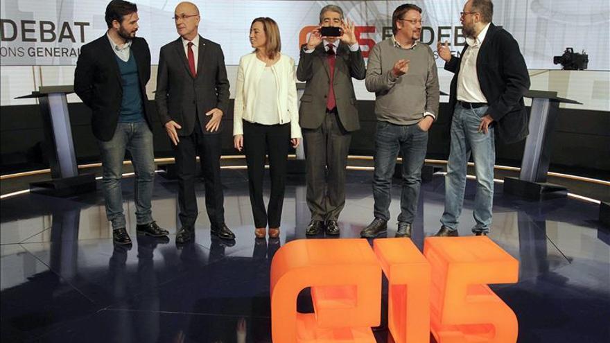 Las balanzas fiscales y el FLA tensan el debate entre candidatos catalanes
