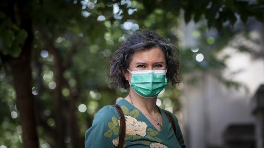 La petróloga Cristina Marín Chaves.
